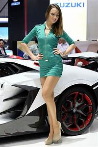 Geneva Motor Show Car Show Girls 2014