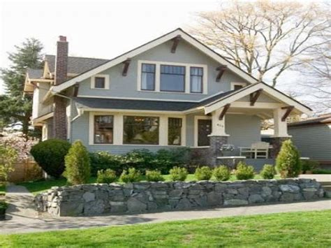 Old-style Bungalow Home Plans Craftsman Bungalow Style