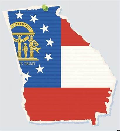 Georgia State Map Ga Peach Democrats Why