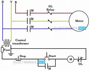 208 3 Phase Motor Wiring Diagram Schematic