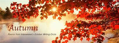 Autumn Writing October Poems Interweave Circle Fall