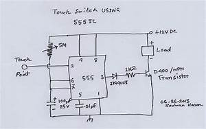 Scavenger U0026 39 S Blog  Touch Switch Using 555 Ic