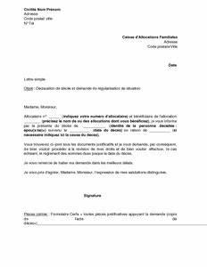 Lettre Deces : exemple gratuit de lettre d claration d c s et demande r gularisation aupr s caf ~ Gottalentnigeria.com Avis de Voitures