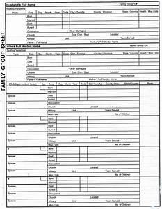 Spreadsheet For Family Tree Printable Spreadshee Template