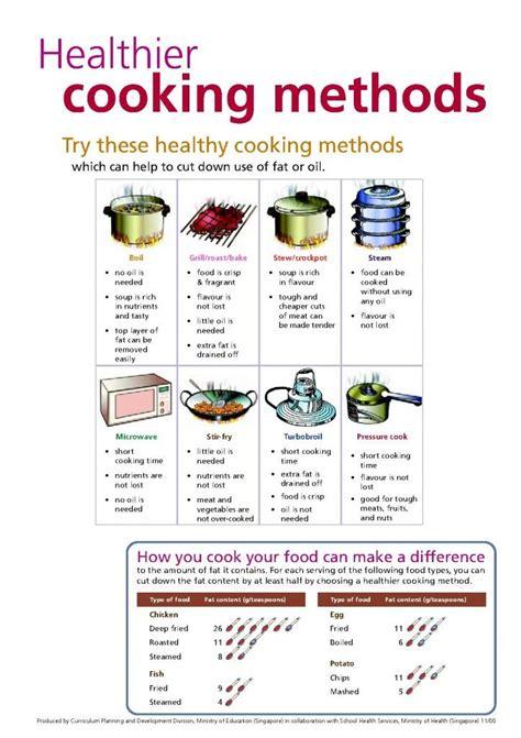 cuisine techniques cooking methods healthier cooking methods 1 cooking