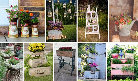 Vintage Garden Decor Ideas To Give Your Outdoor Space A