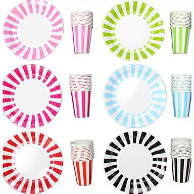 piatti bicchieri per feste monouso di carta da tavola della banda bicchieri e piatti