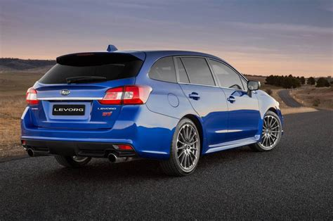 subaru levorg 2018 subaru levorg now on sale 1 6t debuts in australia