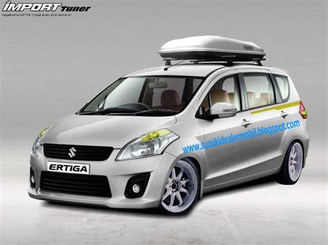Modifikasi Suzuki Ertiga by Modifikasi Racing Ertiga Kit Stiker