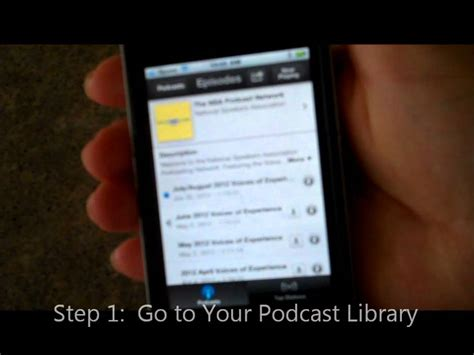 how to delete podcasts from iphone how to delete a podcast from your iphone