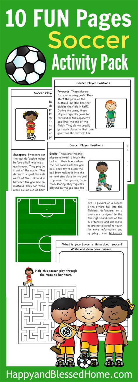 soccer activity pack  kids