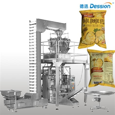 Modified Atmosphere Packaging Weight by Packaging Machine Snack Atmosphere Snack Food Automatic