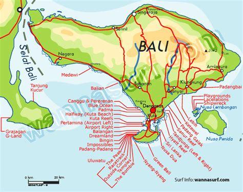 bali surf map bali weather forecast  bali map info
