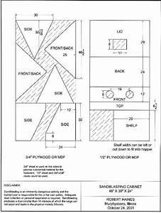 Kdpn: Great Homemade sandblasting cabinet plans