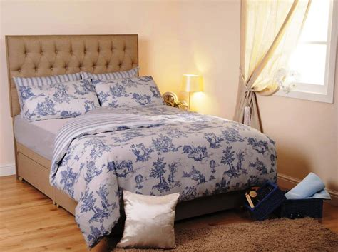 Waverly Blue And White Toile Bedding