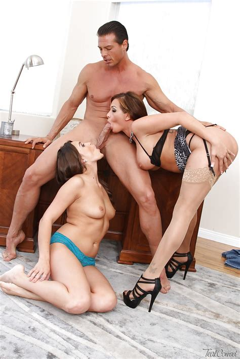 Threesome Sex Scene Features Lesbian Schoolgirl Abigail Mac And Ava Addams Sex Porn Pages