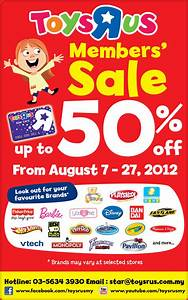 Toys R Us Members' Sale ! - Others sale in Malaysia
