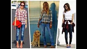 Outfits con camisas largas - YouTube