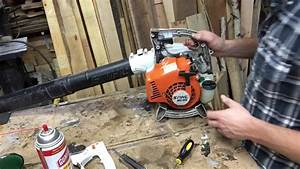Carb Work On A Stihl Bg 55 Leaf Blower