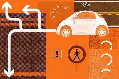 Shutterstock Race Human Drivers Driverless Cars Path