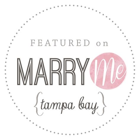 Marry Me Tampa Bay Featured Wedding Published Wedding