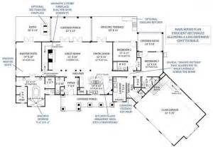 luxury home floor plans with photos best great room floor plans archival designs 39 tres le fleur luxury house plan floor