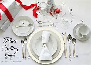 Formal Place Setting Guide Creative Home