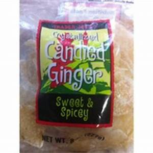 Trader Joe's Crystallized Candied Ginger - Sweet & Spicey ...