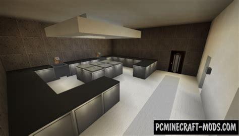 modern restaurant  lounge map  minecraft