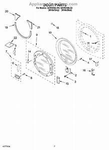 Whirlpool 8530070 Dryer Door Reversal Kit