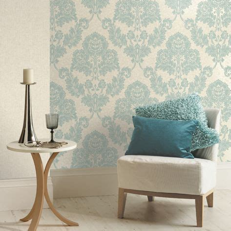 duck egg cream ashlei mica effect wallpaper