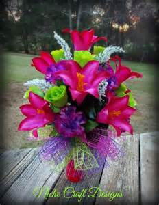 spring flowers arrangement for a cemetery vase my