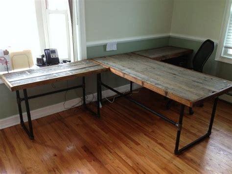 black iron pipe desk black iron pipe desk google search wood and pipe desk