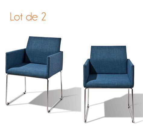 chaises tissus fauteuil chaise bleu fauteuil de salle manger bleu henri