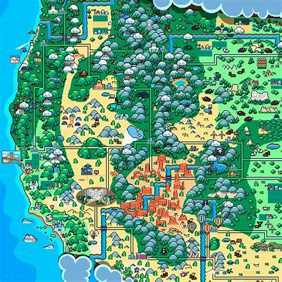 Maps Pixel Map Retronator Thought While There