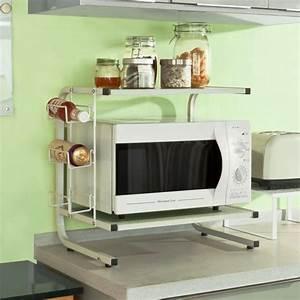 Etagere De Rangement Cuisine : sobuy frg092 w etag res de cuisine meuble rangement cuisine de service en bois tag re micro ~ Melissatoandfro.com Idées de Décoration