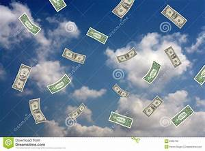 Money Falling From The Sky Stock Photos - Image: 8935793
