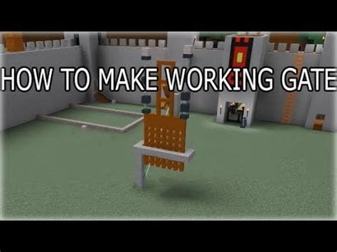 How To Build A Boat Gate how to make a working gate roblox build a boat for