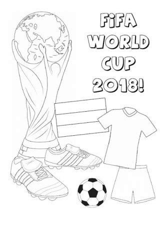 fifa world cup  outfit coloring page  printable coloring pages  kids