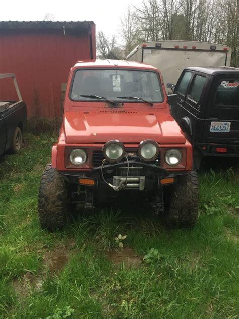 built 1988 suzuki samurai top w parts rig for sale