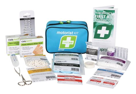 Car First Aid Kit / Vehicle First Aid Kit / Motorist First