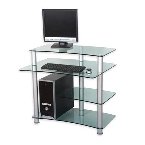 bureau en verre a vendre bureau ordinateur en verre 28 images bureau en verre