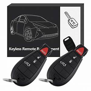 Eccpp Replacement Uncut Keyless Entry Remote Key Fob Fit