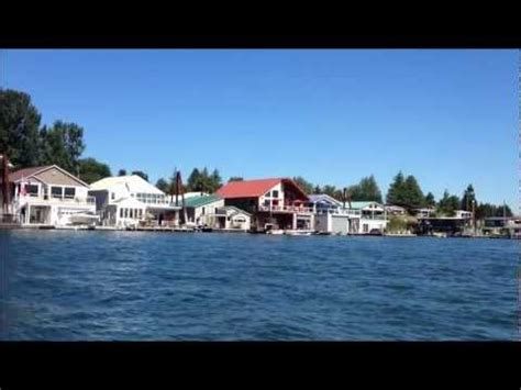 Living On A Boat Oregon by Portland Oregon Floating Homes On The Columbia River