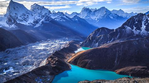 Sagarmatha National Park in Nepal : backpacking