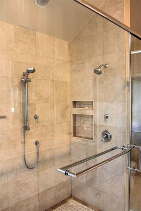 transitional  white bathroom evo design center