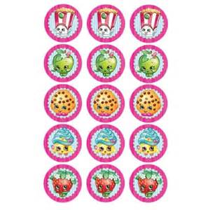 octonauts cake topper shopkins edible icing cupcake toppers x 15 kids themed