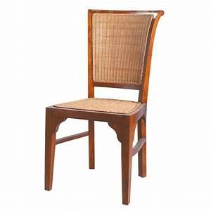 Chaise Jardin Maison Du Monde : chaise en rotin et teck massif sofia maisons du monde ~ Premium-room.com Idées de Décoration