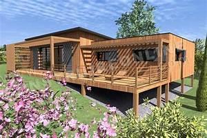 plans de maison en bois nouvelle rubrique sur notre With plan maison bois sur pilotis