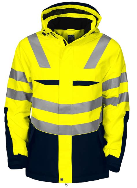 PJ6418 HiVis Jacket - Barden & Euroa Clothing